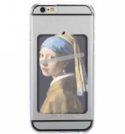Adhesive Mobile slot card Girl with a Pearl Earring