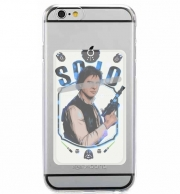 Adhesive Mobile slot card Han Solo from Star Wars