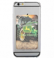 Adhesive Mobile slot card John Deer tractor Farm