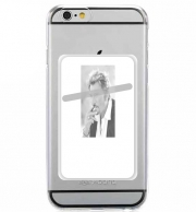 Adhesive Mobile slot card johnny hallyday Smoke Cigare Hommage