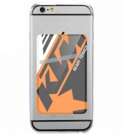 Adhesive Mobile slot card KTM Racing Orange And Black