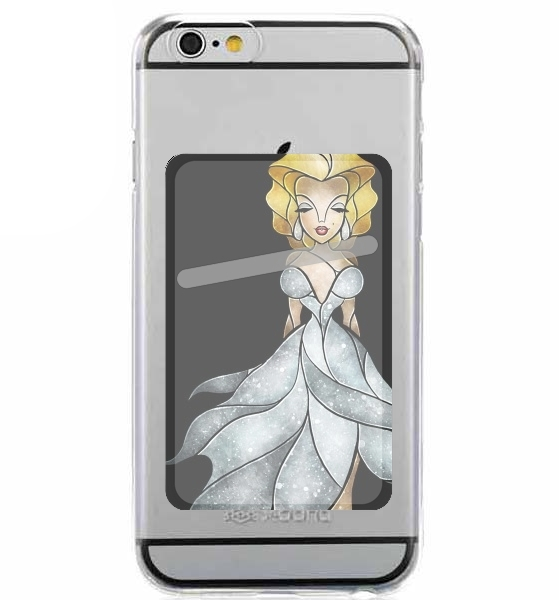 Adhesive Mobile slot card Marilyn