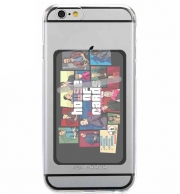 Adhesive Mobile slot card Mashup GTA and House of Cards