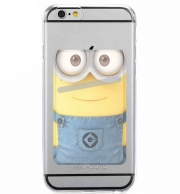 Adhesive Mobile slot card Minions Face
