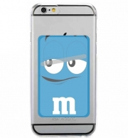 Adhesive Mobile slot card M&M's Blue