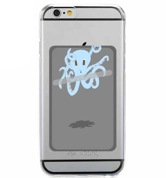 Adhesive Mobile slot card octopus
