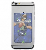 Adhesive Mobile slot card Seattle Seahawks: QB 3 - Russell Wilson