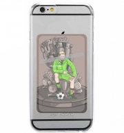 Adhesive Mobile slot card The King on the Throne of Trophies