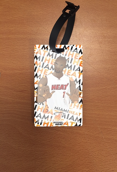 Attachment address for suitcase Basketball Stars: Chris Bosh - Miami Heat