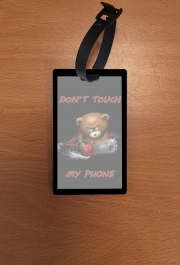Attache adresse pour bagage Don't touch my phone
