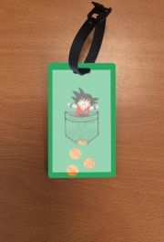 Attachment address for suitcase Pocket Collection: Goku Dragon Balls