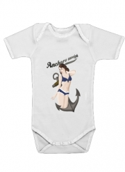 Body Bébé manche courte Anchors Aweigh - Classic Pin Up