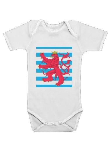 Armoiries du Luxembourg dla Baby short sleeve onesies