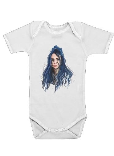 Billie Eilish för Baby short sleeve onesies