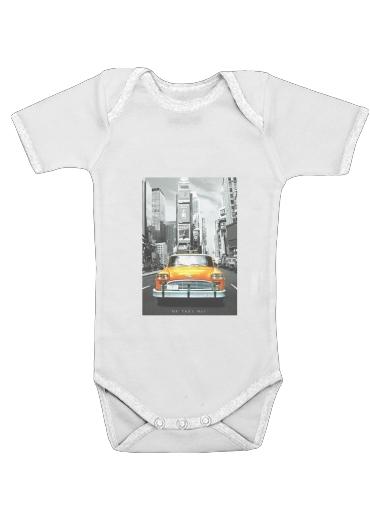 Gelbes Taxi Stadt von New York City für Baby Body