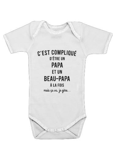 cest complique detre un papa et un beau papa a la fois mais je gere für Baby Body