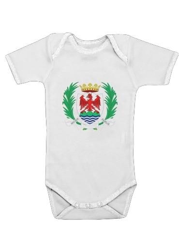 Comte de Nice dla Baby short sleeve onesies
