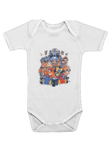 Crash Team Racing Fan Art für Baby Body