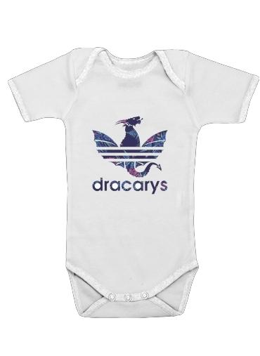 Onesies Baby Dracarys Floral Blue