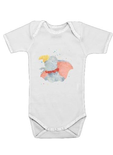 Onesies Baby Dumbo Watercolor