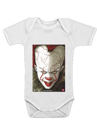 Baby Onesie Evil Clown