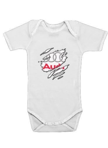 Fan Driver Audi GriffeSport dla Baby short sleeve onesies