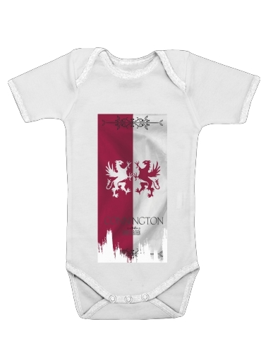 Flag House Connington dla Baby short sleeve onesies