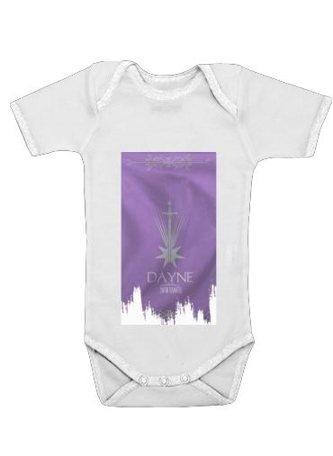 Flag House Dayne dla Baby short sleeve onesies