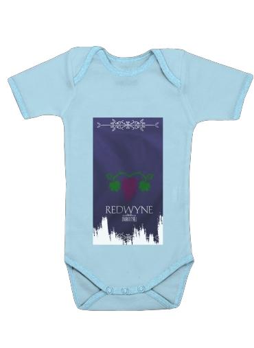 Flag House Redwyne dla Baby short sleeve onesies