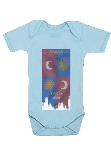Flag House Tarth dla Baby short sleeve onesies