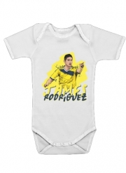 Baby Onesie Football Stars: James Rodriguez - Colombia