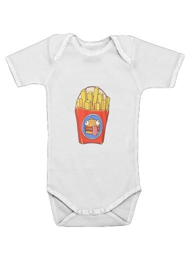 French Fries by Fortnite för Baby short sleeve onesies