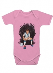 Baby Onesie Game of Thrones: King Lionel Messi - House Catalunya
