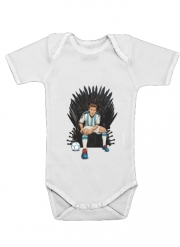 Body Bébé manche courte Game of Thrones: King Lionel Messi - House Catalunya