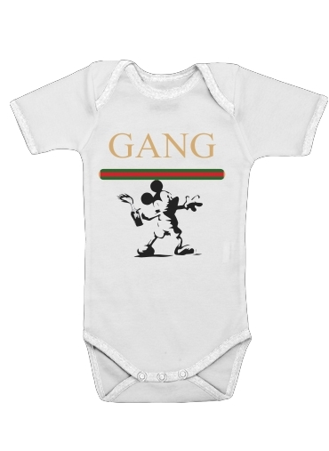 Onesies Baby Gang Mouse