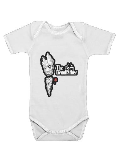 Onesies Baby GrootFather is Groot x GodFather