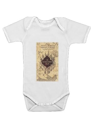 Harry Potter Marauder Map für Baby Body