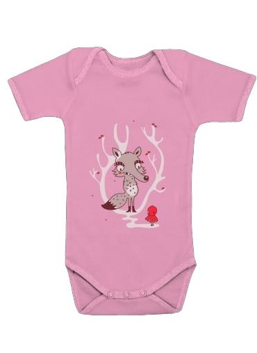 Hello big Worlf dla Baby short sleeve onesies