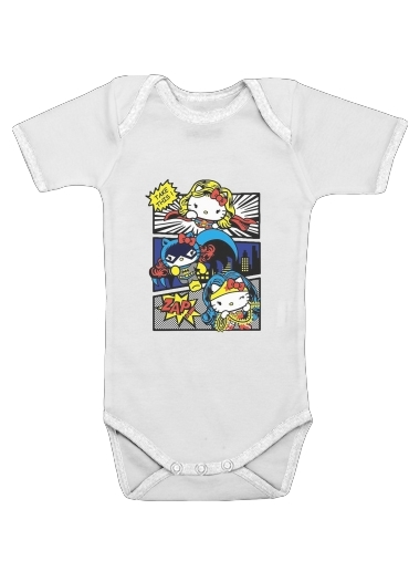 Onesies Baby Hello Kitty X Heroes