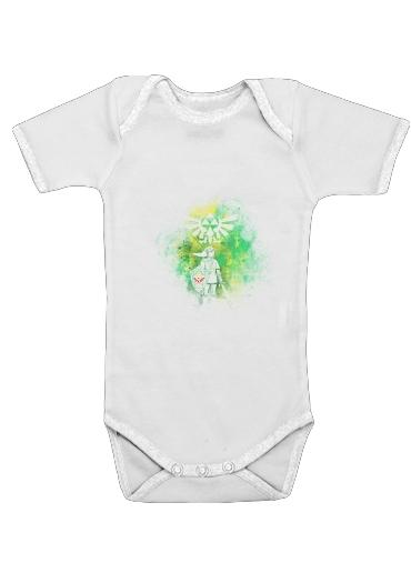 Hyrule Art för Baby short sleeve onesies