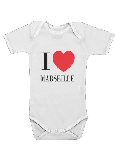 Onesies Baby I love Marseille