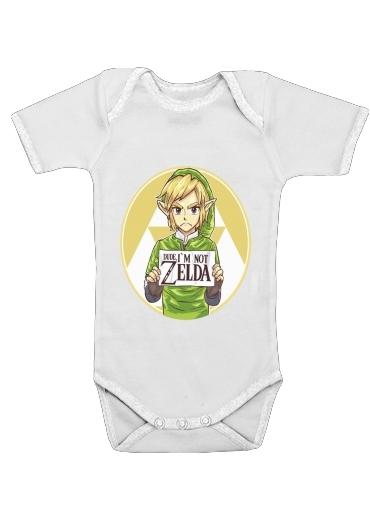 Onesies Baby Im not Zelda