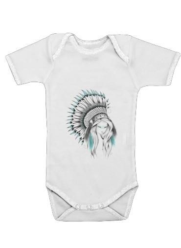 Indian Headdress für Baby Body