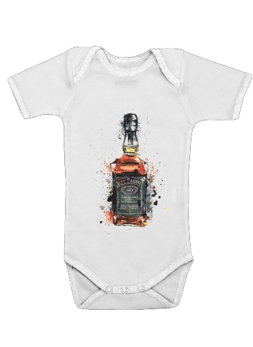 Jack Daniels Fan Design för Baby short sleeve onesies