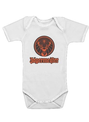 Jagermeister för Baby short sleeve onesies