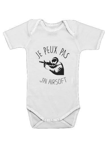 Je peux pas jai Airsoft Paintball für Baby Body