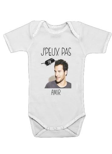 Je peux pas jai Amir för Baby short sleeve onesies