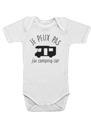 Onesies Baby Je peux pas jai camping car