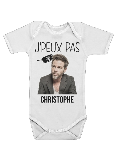 Je peux pas jai christophe mae för Baby short sleeve onesies