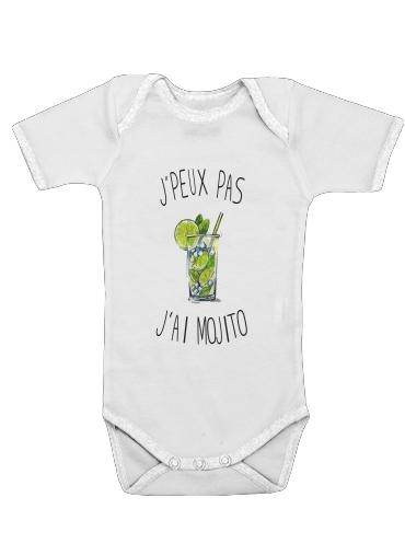 Je peux pas jai mojito för Baby short sleeve onesies